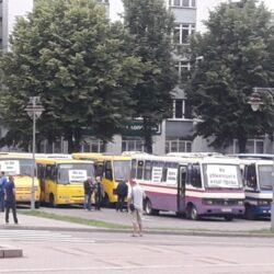 У Рівному від самого ранку – акція протесту (ФОТО)