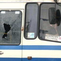 У центрі Луцька чоловік захопив автобус із заручниками (ОНОВЛЮЄТЬСЯ)