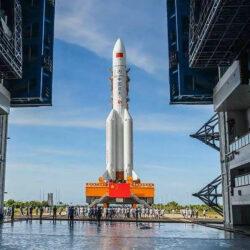 Китай підготував ракету для запуску місії на Марс