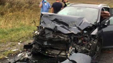 Потрійна автоаварія на Рівненщині: травмовано трьох осіб (Фото)