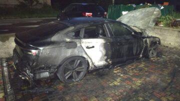 Громадянину Білорусії спалили авто у Дубні