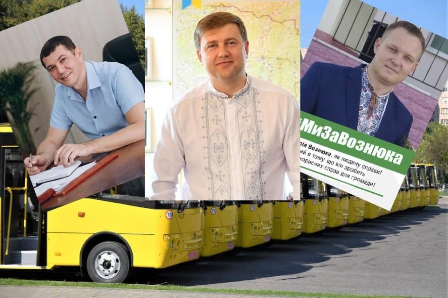 Жовті автобуси та тінь на зеленого кандидата