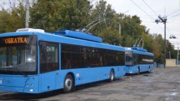 У Рівному курсуватимуть два нових тролейбуси
