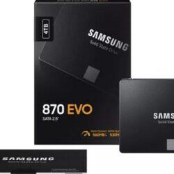 Samsung 870 Evo підвищує продуктивність SSD початкового рівня